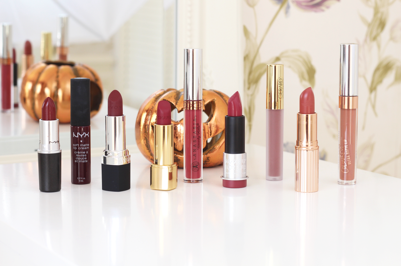 9 AUTUMN LIP PICKS