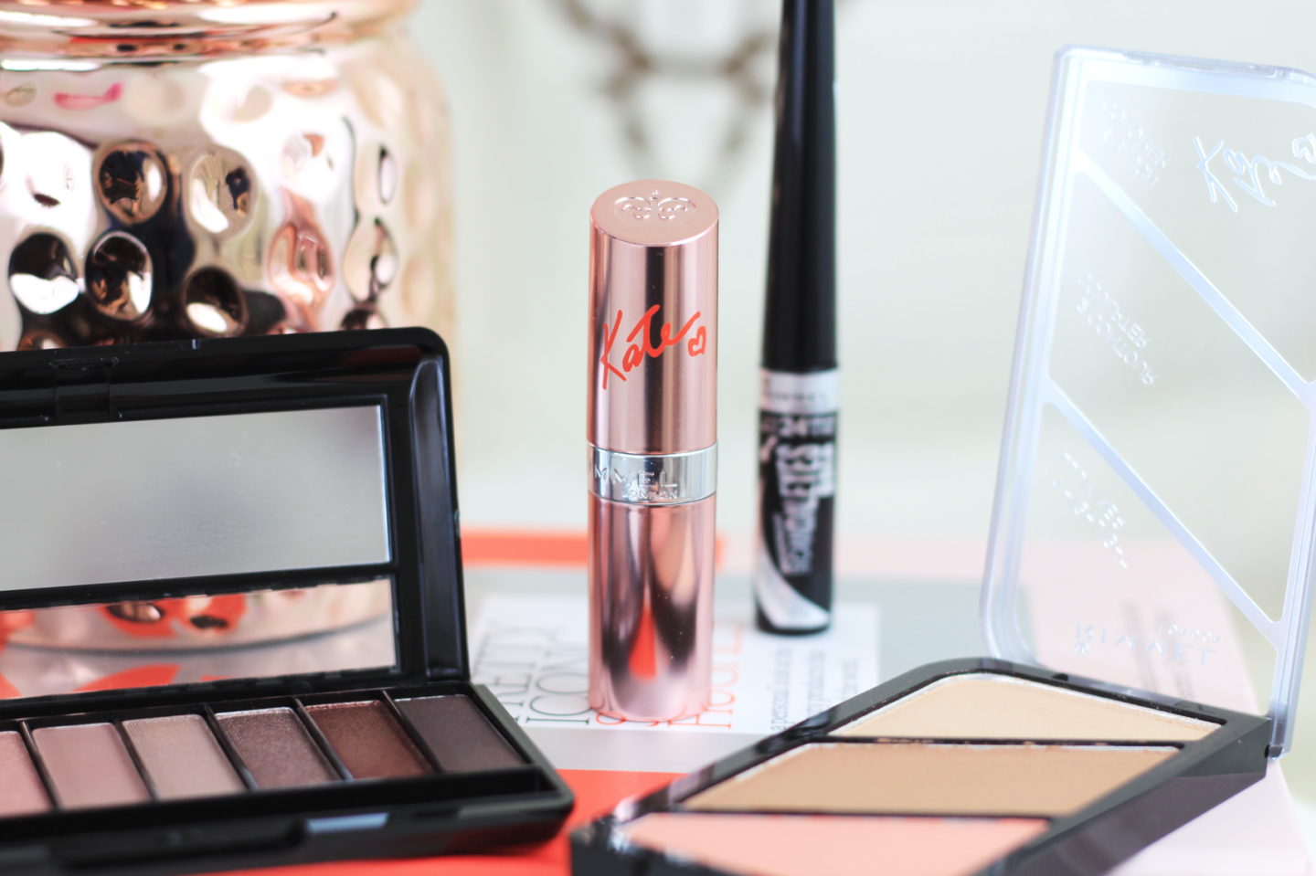 GETTING READY WITH RIMMEL