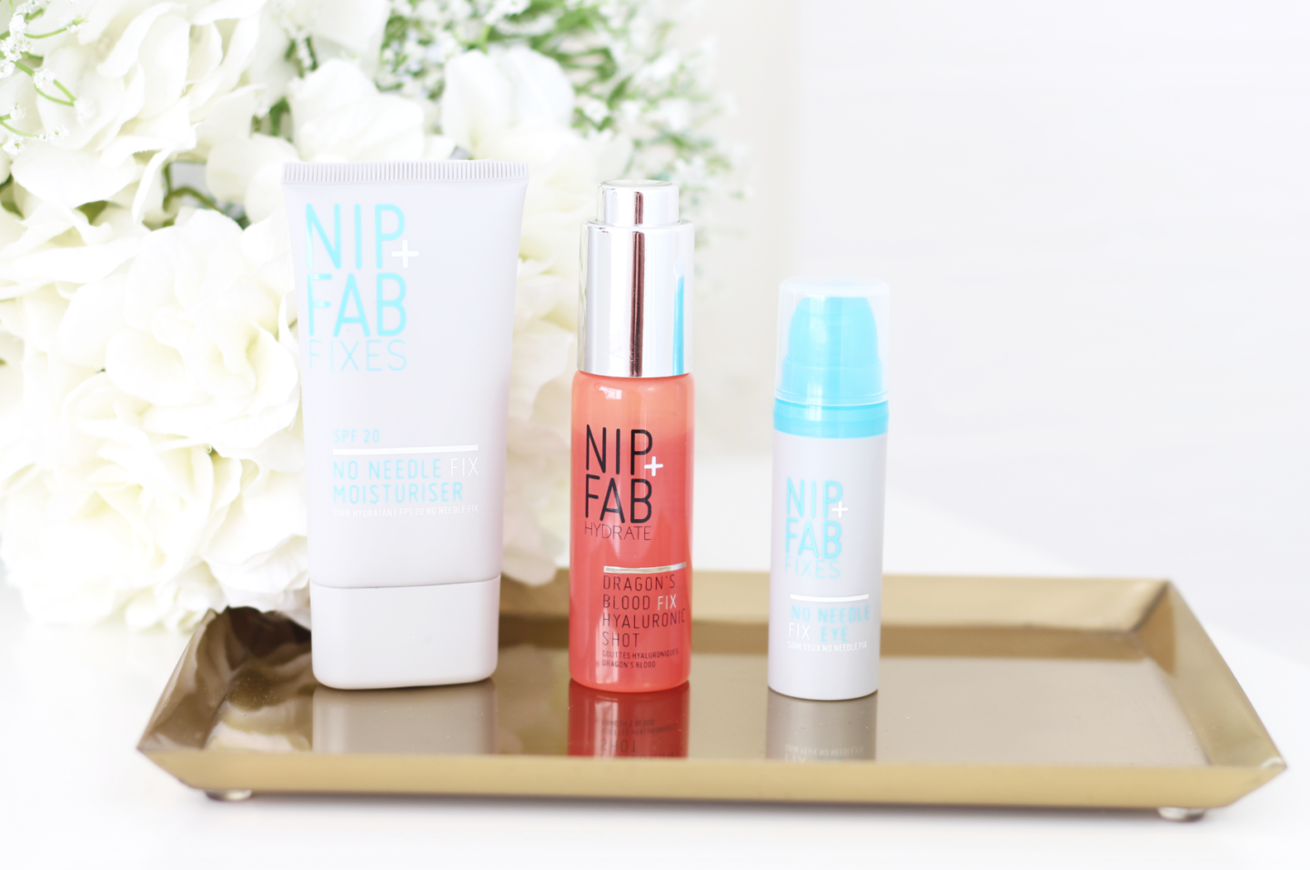 THREE TO TRY FROM NIP+FAB