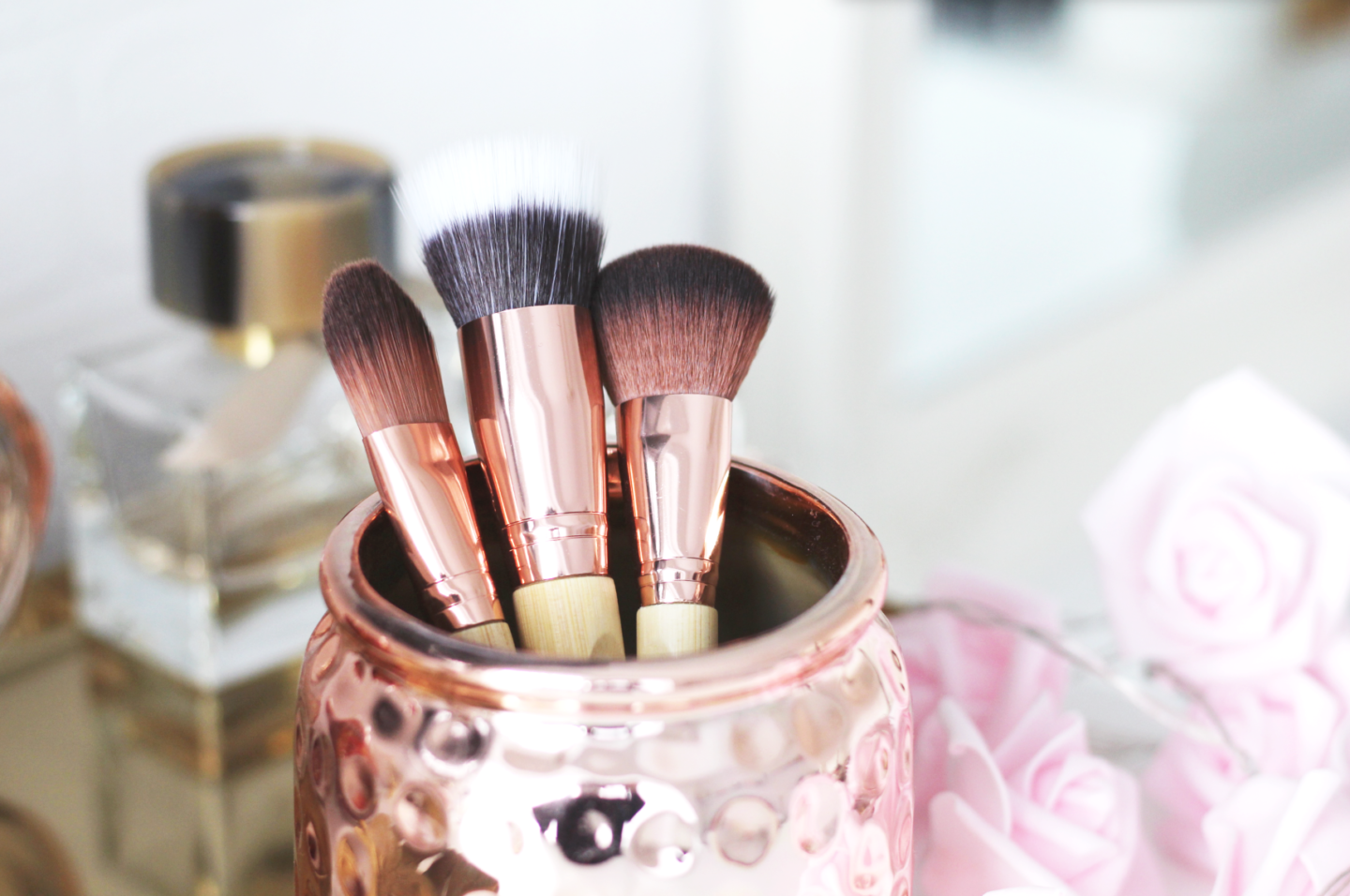 SO ECO ROSE GOLD BRUSHES