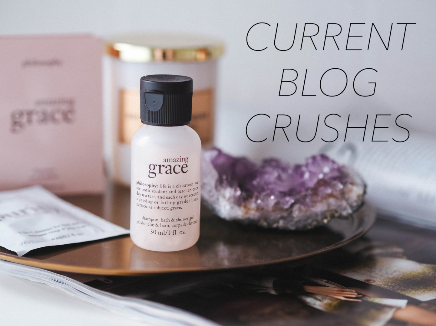 CURRENT BLOG CRUSHES
